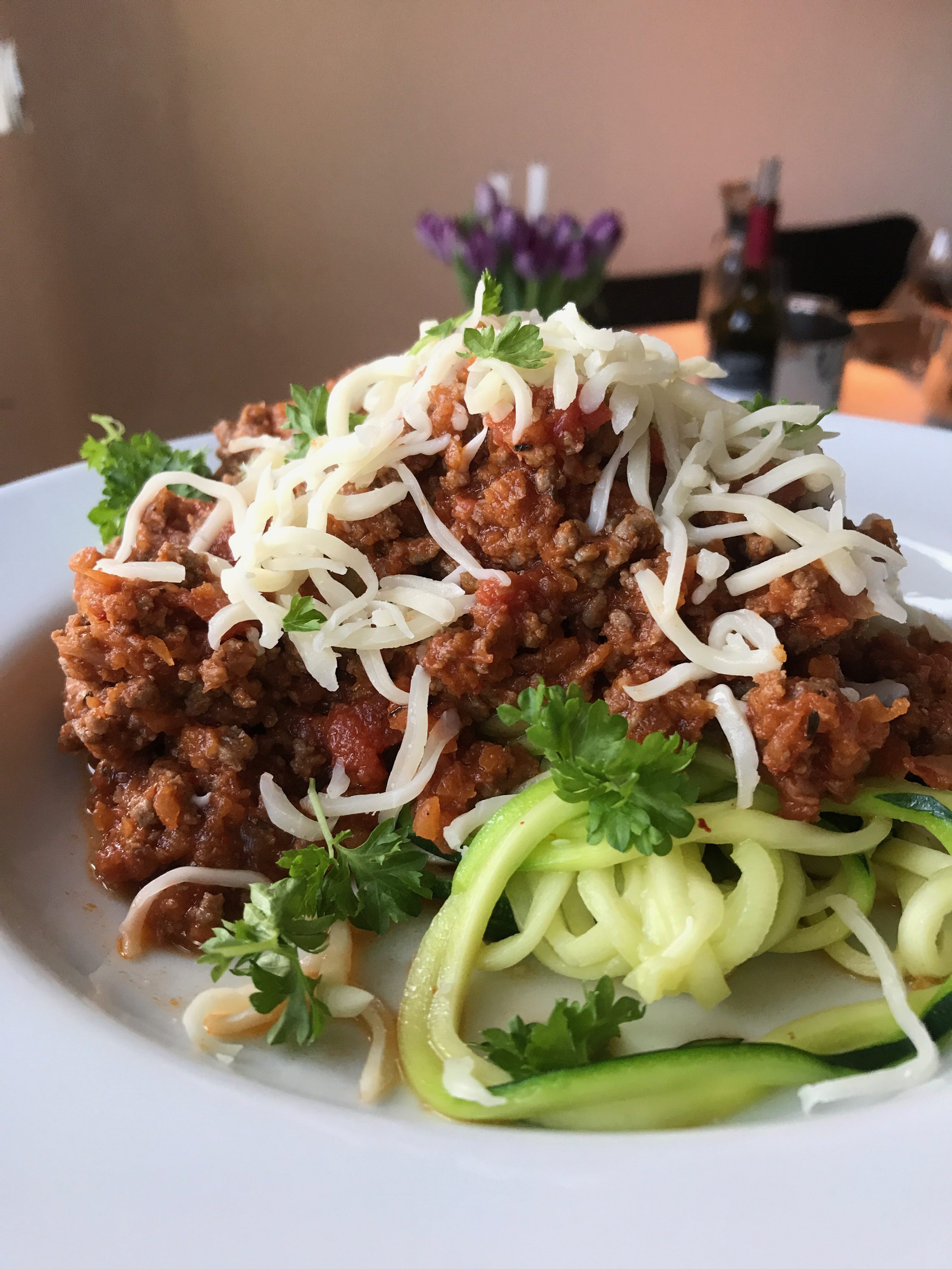 Squashgetti Bolognese Made Easy
