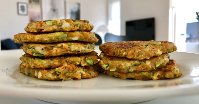 Vegetable patties for kids and adults