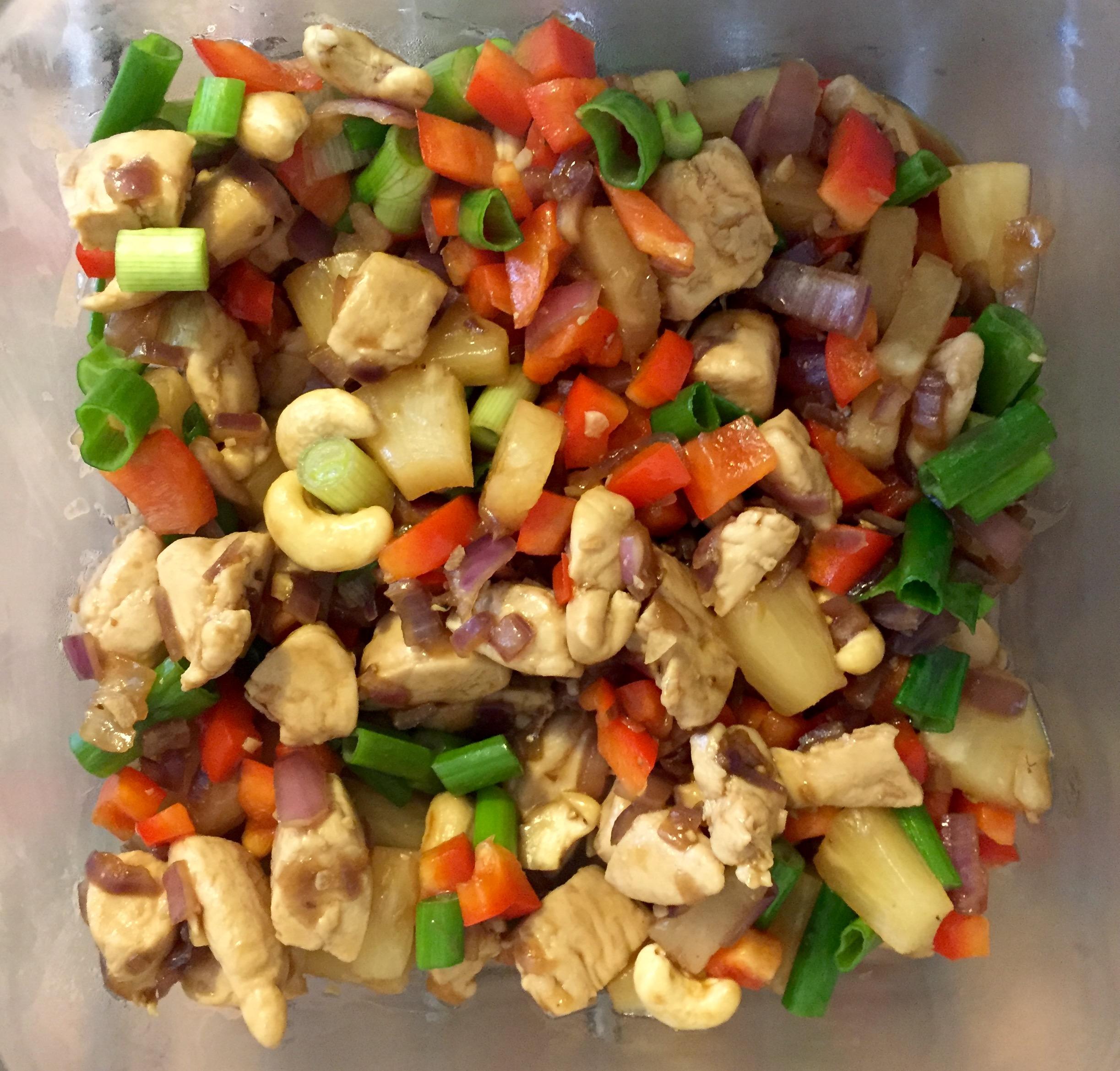 Cashew Thai Chicken