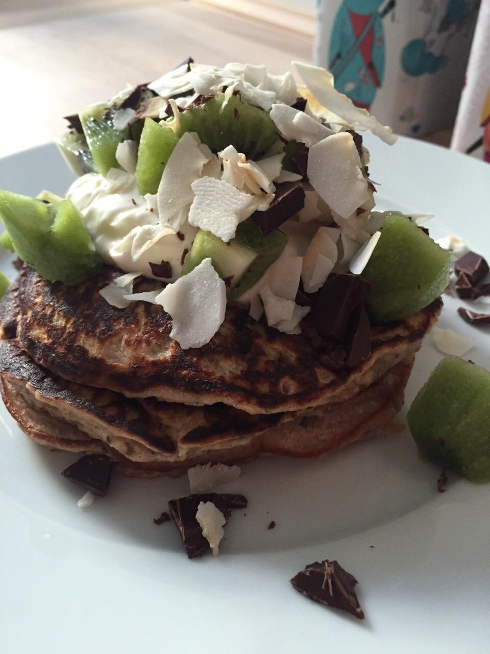Sugar and Gluten Free Breakfast Pancakes